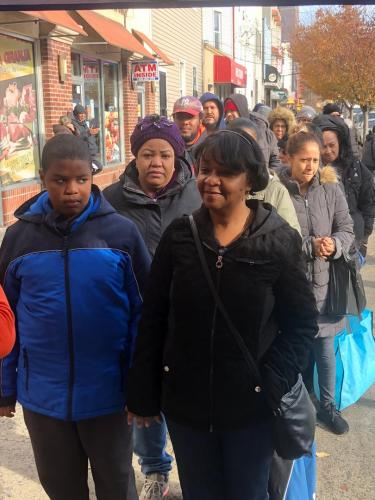 Bronx, New York Donation
